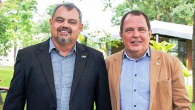 Foto: João Chrysostomo de Resende Júnior novo reitor da UFLA, e José Roberto Scolforo, vice-reitor